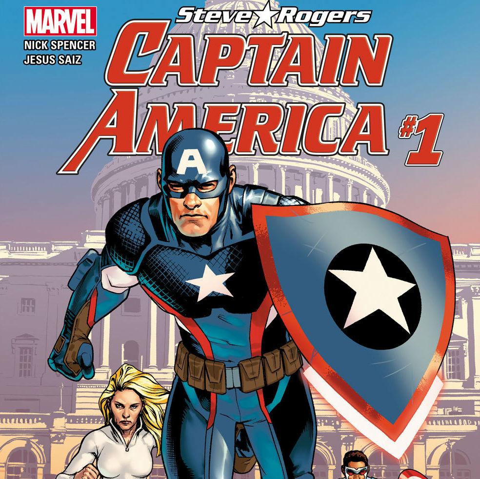 Captain America Steve Rogers Cropped