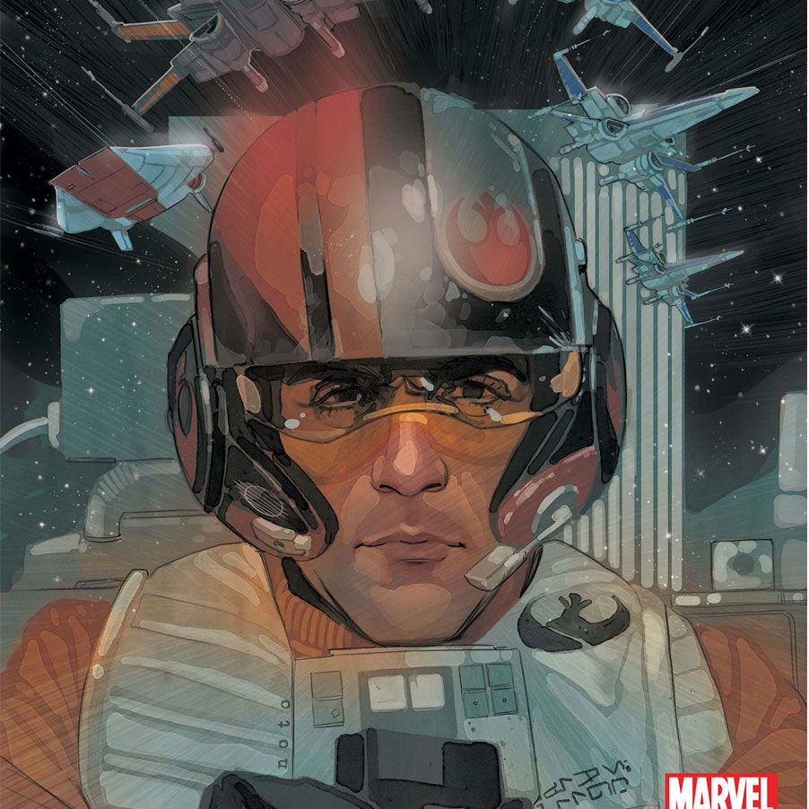Poe Dameron #1 Cover Cropped