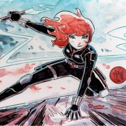 Black Widow Mike Maihack