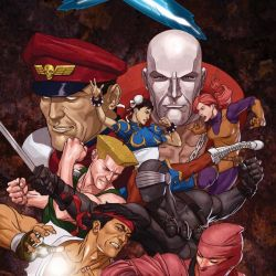 Street Fighter X G.I Joe Cover