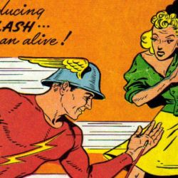 flash comics 1 jay garrick feature