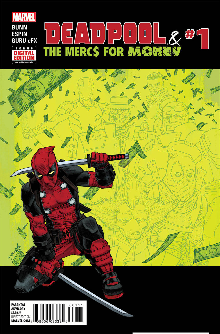 Deadpool & The Mercs for Money #1