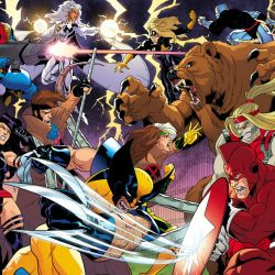 X-Men 92 Splash Fight Cropped