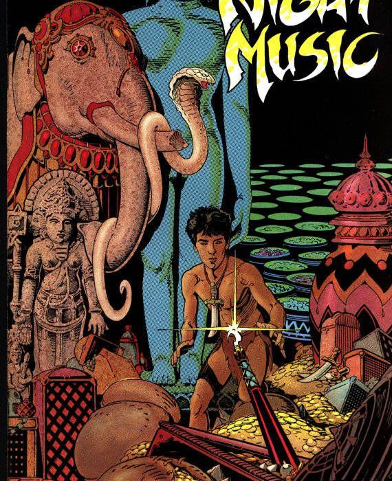 Night Music 3 Cover