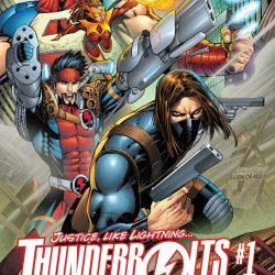 Thunderbolts issue 1 Cover