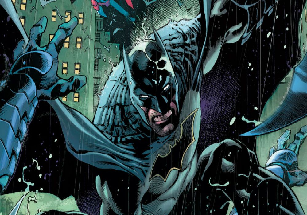 Detective Comics #935 Cover Edit