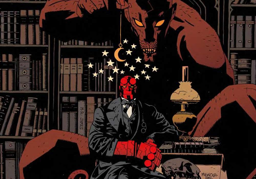 Feature: Hellboy in the library