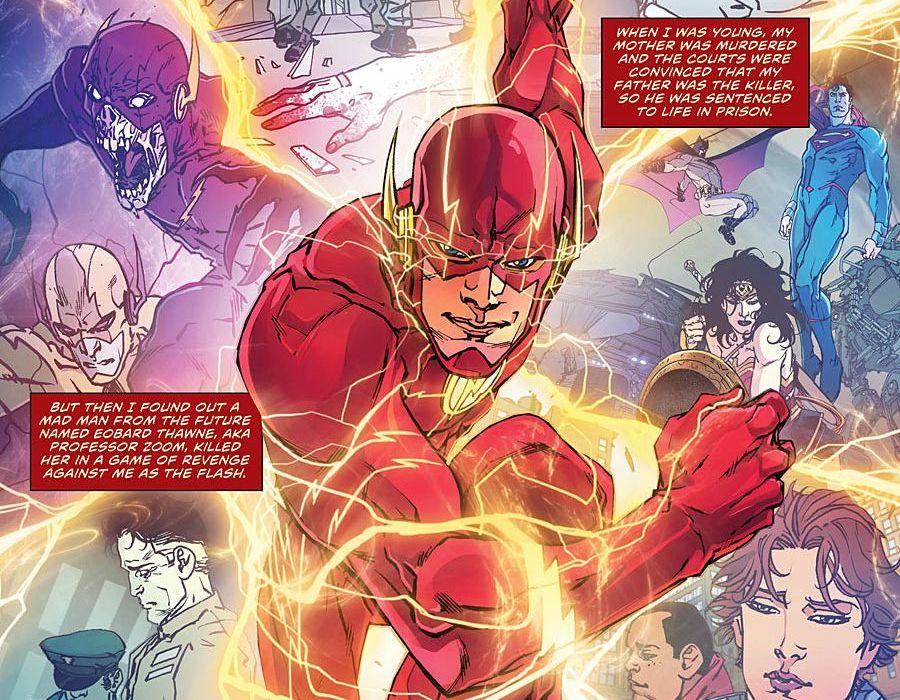 Flash Rebirth 1 Featured