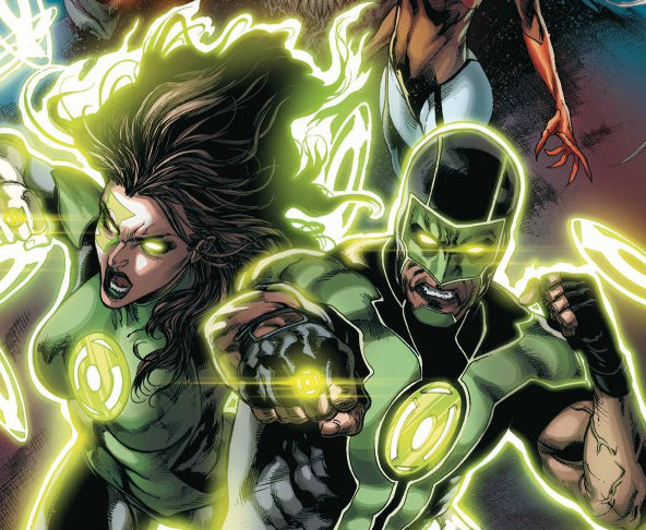 Green Lanterns Issue One Cover Crop