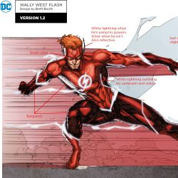 Wally West Redesign Featured