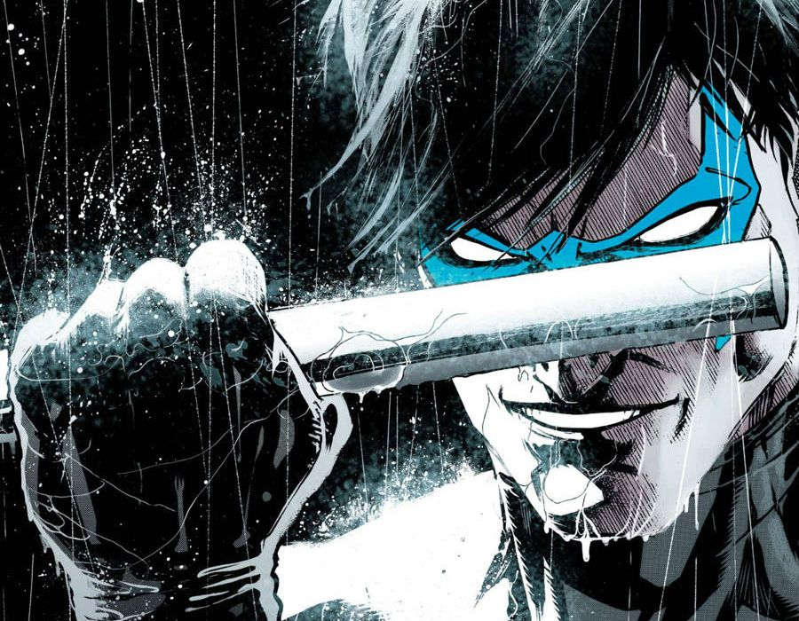 Nightwing Rebirth #1 Cover Edit