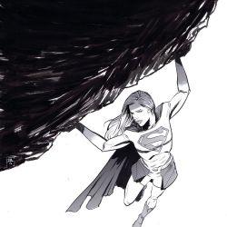 Supergirl Month: Ibrahim Moustafa Featured
