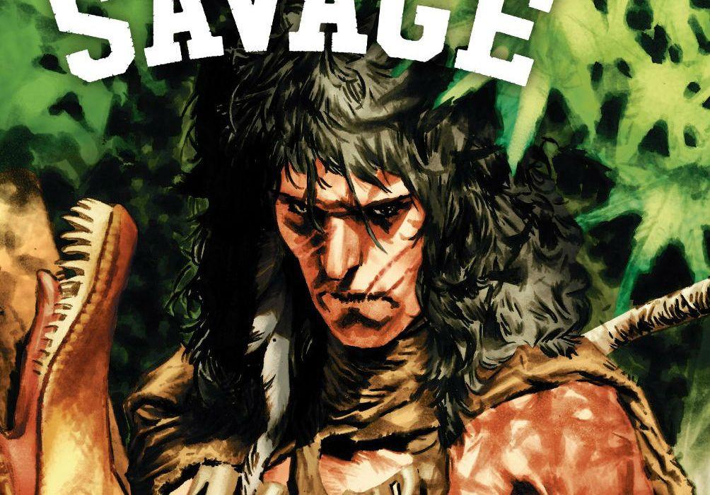 Savage #3 Cover Edit