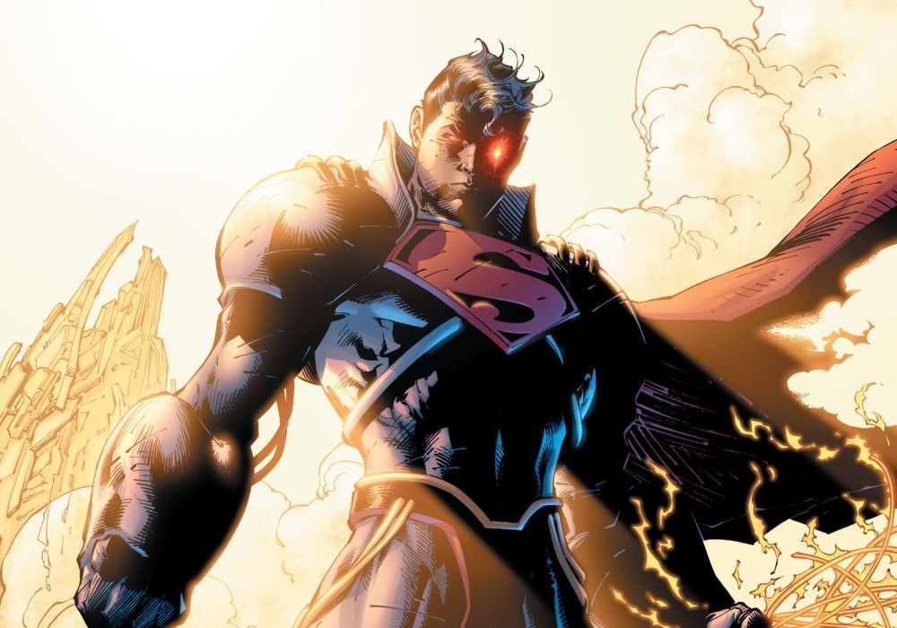 Superboy Prime Jim Lee Featured
