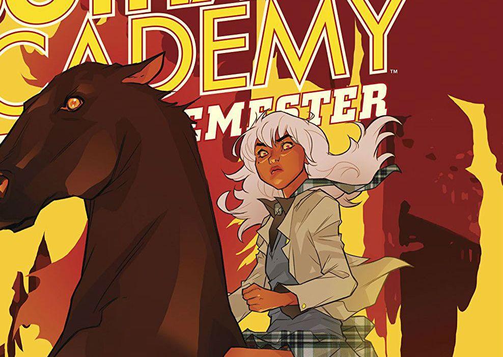 Gotham Academy Second Semester #8 Cover Edit