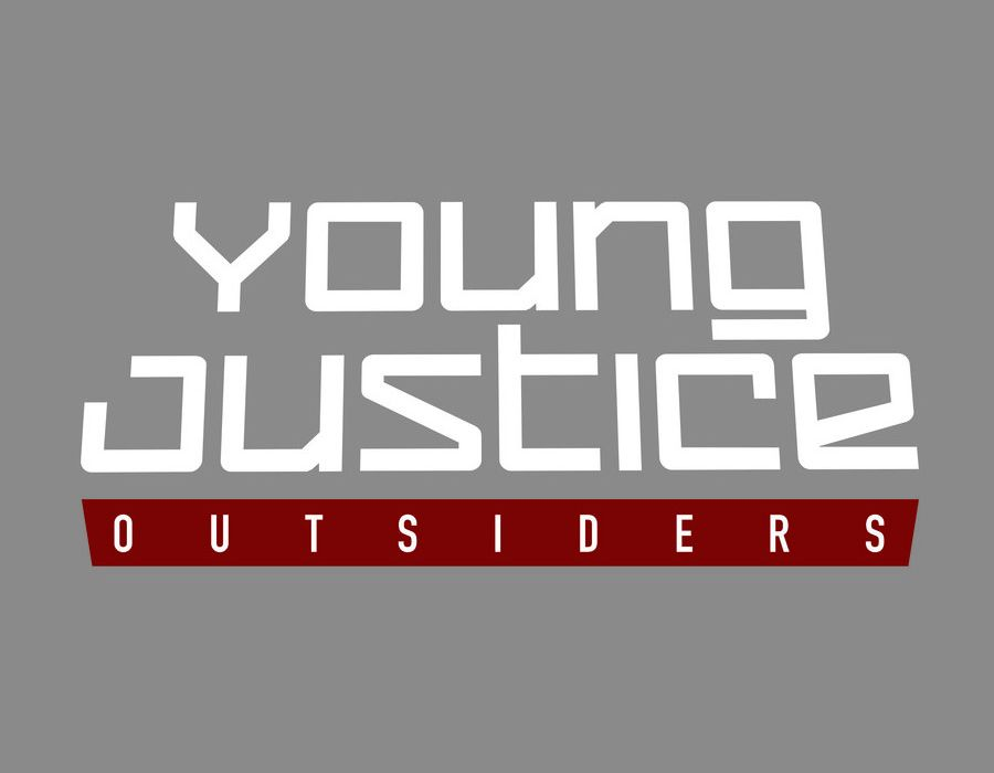 YOUNG JUSTICE OUTSIDERS Logo