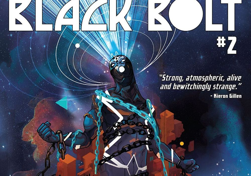 Black Bolt #2 Featured