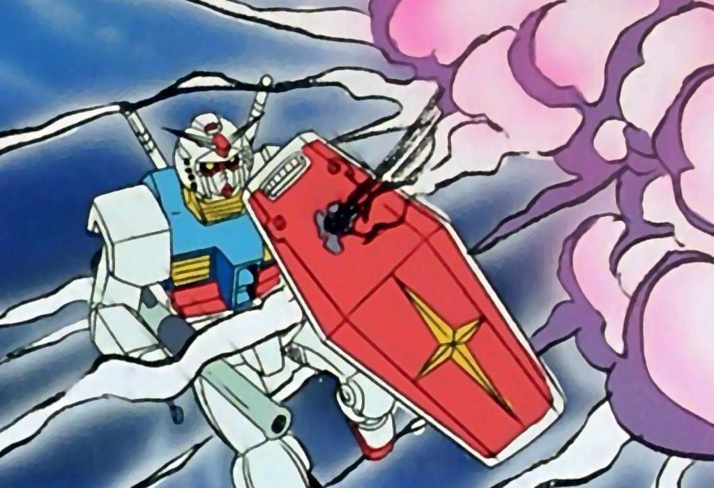 Mobile Suit Gundam Re-Entry To Earth