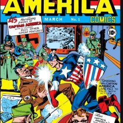 Captain America Comics #1 Featured