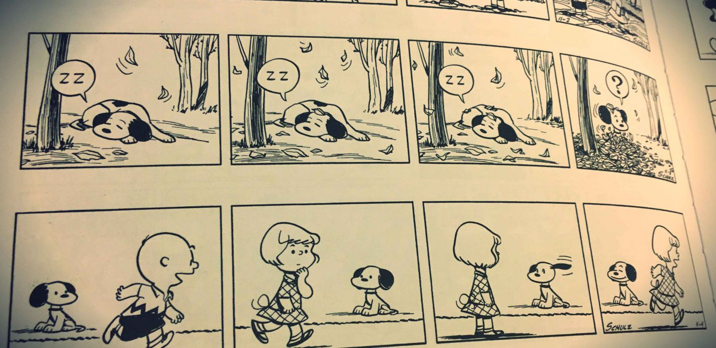 Peanuts-by-Charles-Schulz-Early-Snoopy