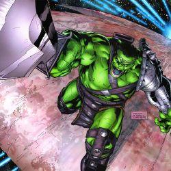 Planet Hulk ending