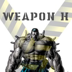 Weapon H by Mike Deodato Jr.