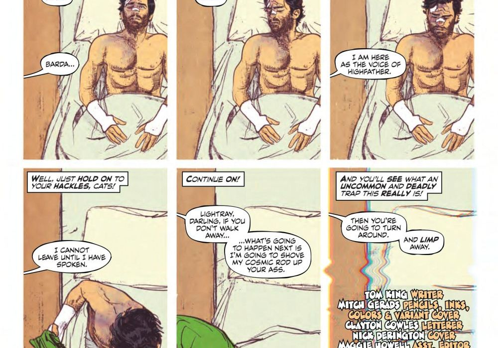 Clayton Cowles Mister Miracle Featured