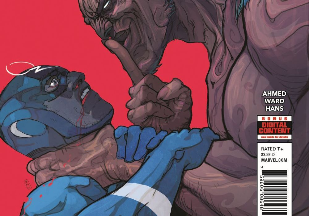 Black Bolt #10 Featured