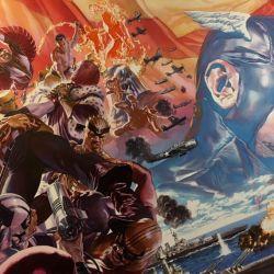 Ta-Nehisi Coates Lenil Yu Alex Ross Captain America 1 Banner