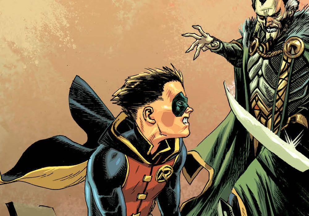 Batman: Prelude to the Wedding — Robin Vs. Ra's al Ghul #1 Featured
