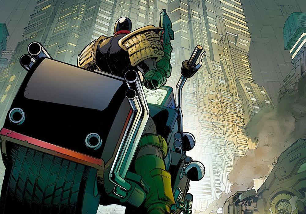 Judge Dredd Under Siege 1 Featured