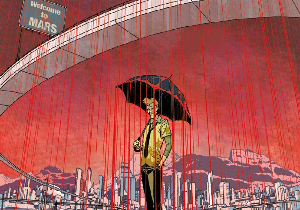 The Weatherman #1 featured