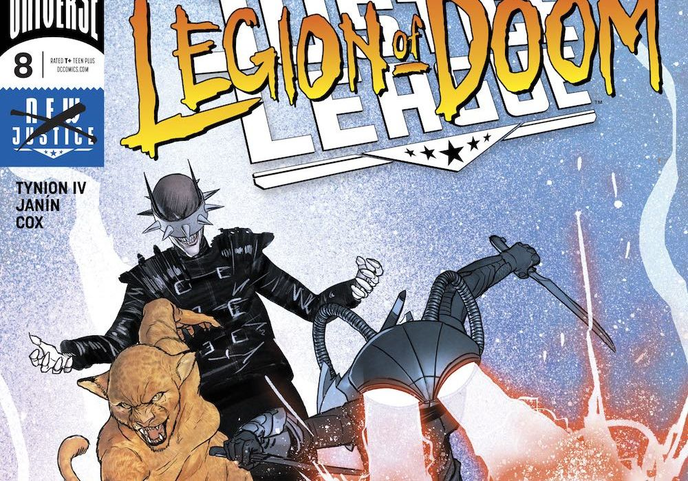 Justice League #8 Featured