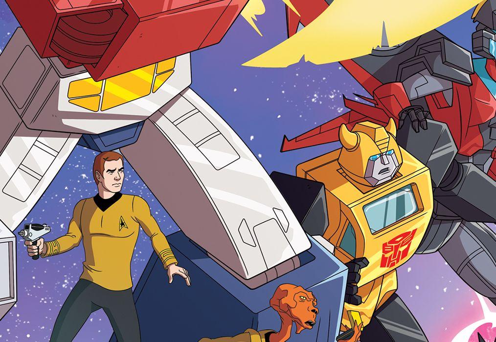 Star Trek vs Transformers #1 Featured