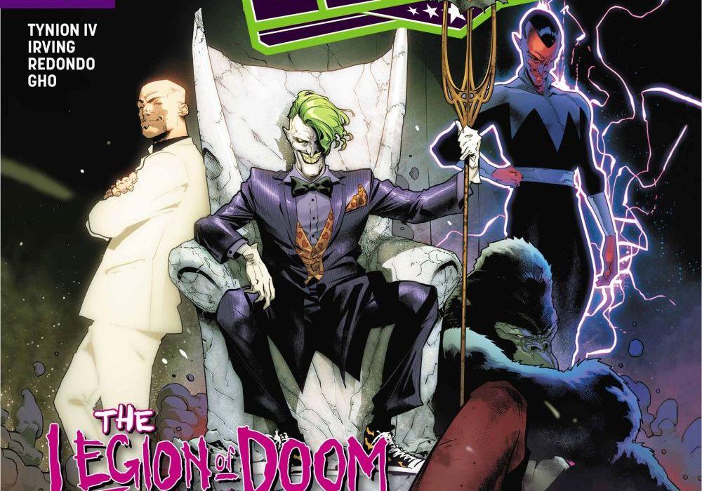 Justice League 12 Featured
