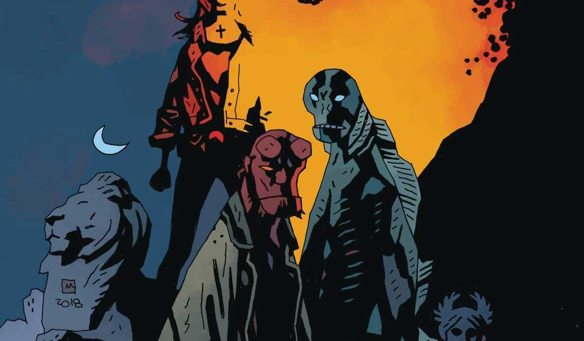 Feature: B.P.R.D.: The Devil You Know #11 (Mike Mignola cover A)