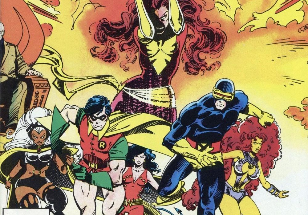 Uncanny X-Men and the Teen Titans Featured