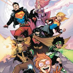 Young Justice 1 cover - cropped