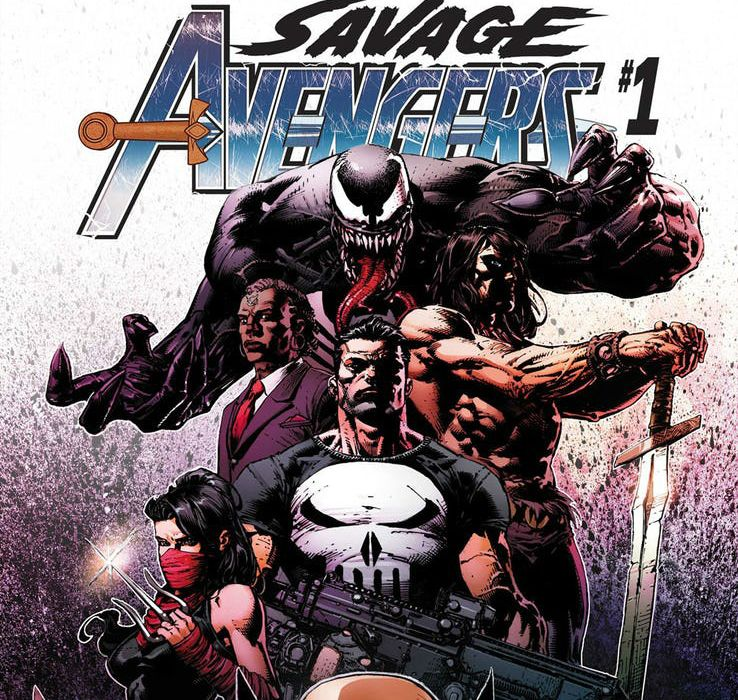 Savage Avengers #1 featured