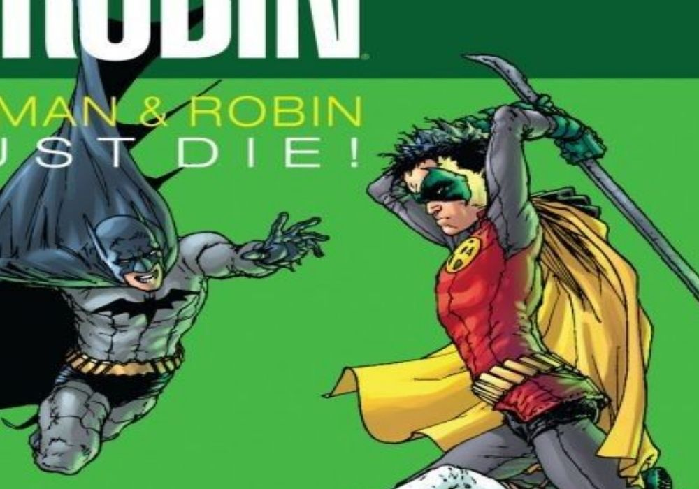 batman and robin must die header image