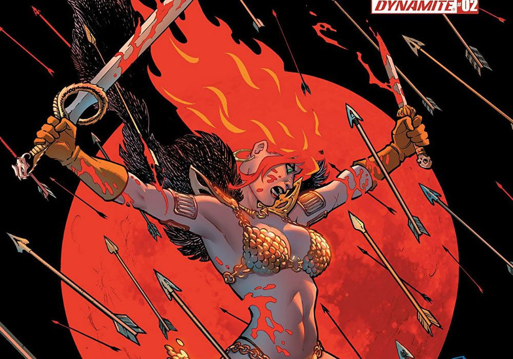 Red Sonja #2 - Featured