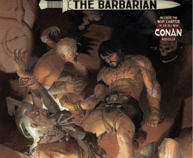 Conan #6 Featured