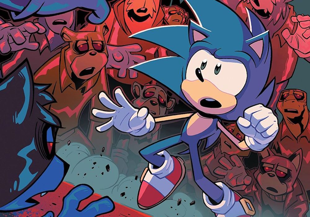 Sonic the Hedgehog #17 Featured