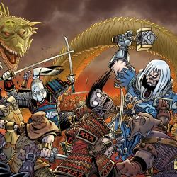 Usagi Yojimbo #1 / Ragnarök: The Breaking of Helheim 1 Featured