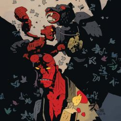 Feature: Hellboy and the B.P.R.D.: The Beast of Vargu (Mignola cover)