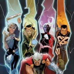 War of the Realms Omega 1 Featured