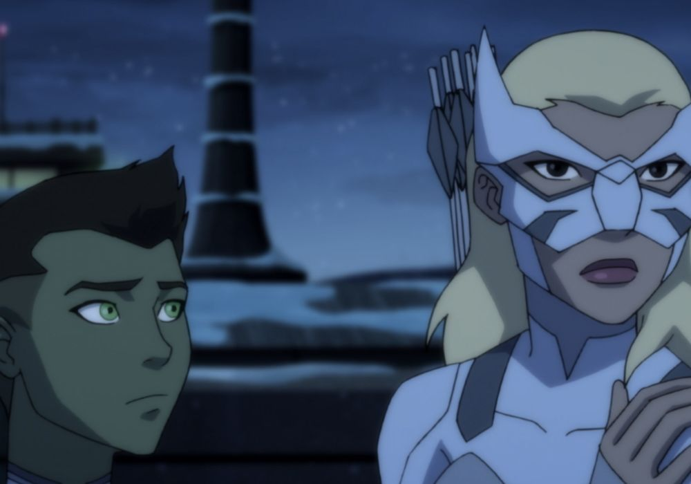 Young Justice Outsiders Leverage Featured