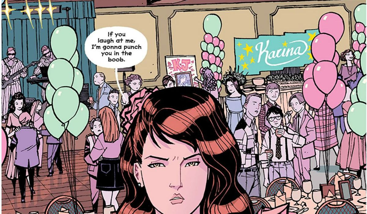 Paper Girls #30 SMP