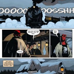 Feature: Hellboy and the B.P.R.D.: Long Night at Goloski Station (interiors)