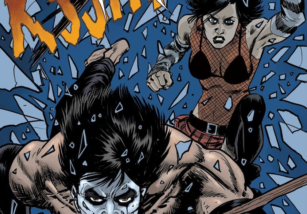 The Crow Hack Slash #4 Annotation Featured